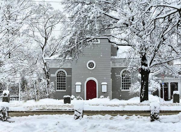 Photograph - Christ Church Winter Bliss by Christina Maiorano