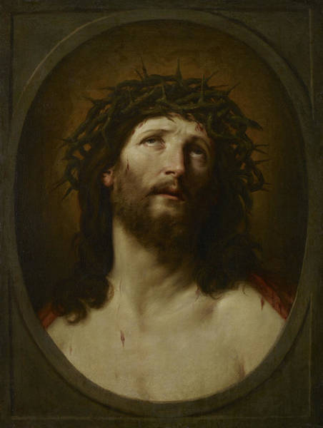 Believers Painting - Christ Crowned With Thorns, 1622-1623 by Guido Reni