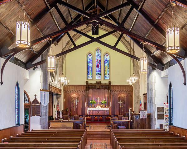 Photograph - Christ Episcopal Interior by Allin Sorenson