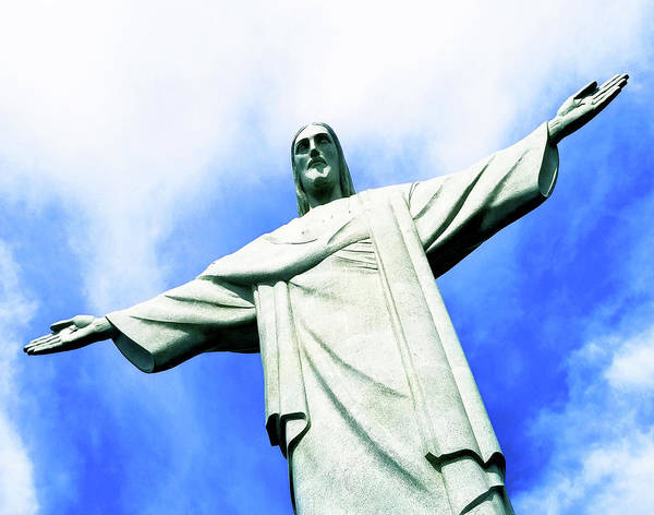 Photograph - Christ On Corcovado Mountain by Roger Bester