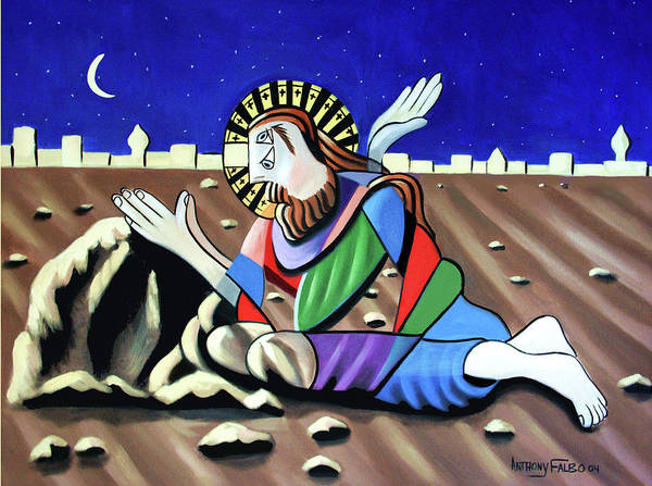 Wall Art - Painting - Christ Will Come Again by Anthony Falbo