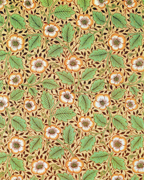 Wall Art - Painting - Christchurch - Digital Remastered Edition by William Morris