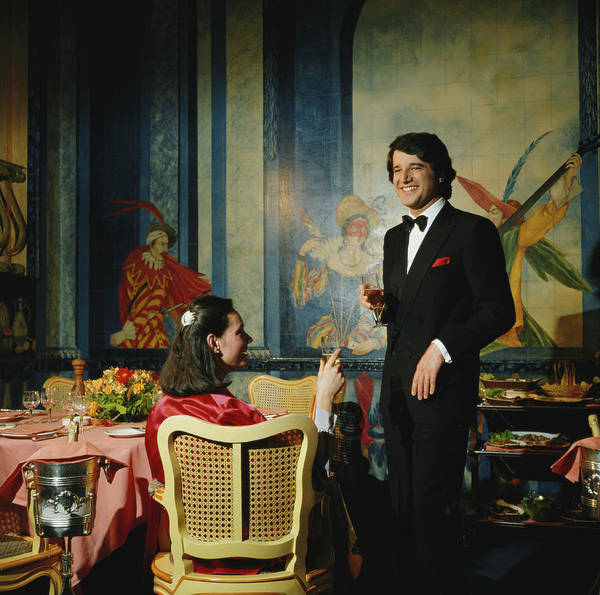 Italy Photograph - Christian De Sica by Slim Aarons