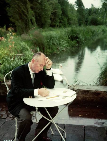 Photograph - Christian Dior In France In The 1950s - by Kammerman