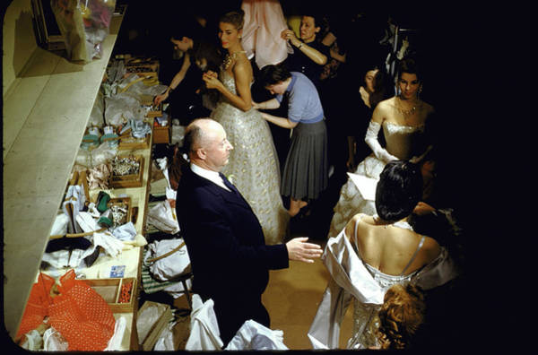 Photograph - Christian Dior by Loomis Dean