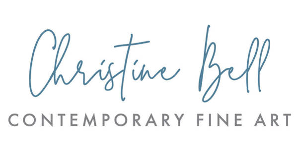Wall Art - Painting - Christine Bell Artist Logo by Christine Bell