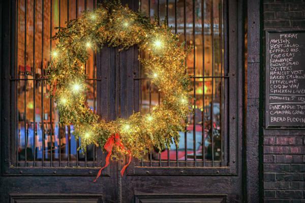 Wall Art - Photograph - Christmas At La Buvette by Nikolyn McDonald