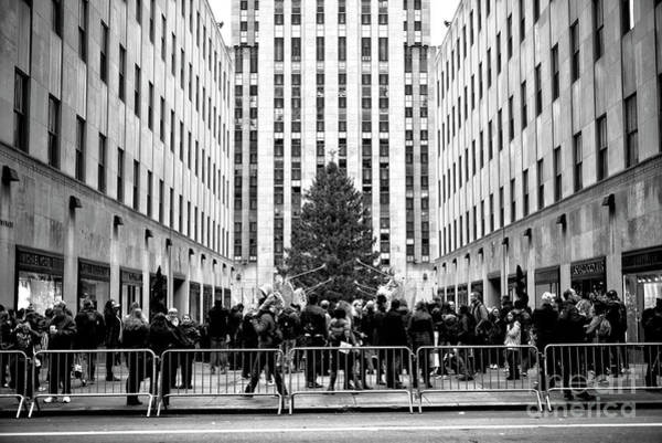 Photograph - Christmas At Rockefeller Center In New York City by John Rizzuto