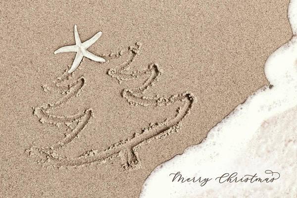 Wall Art - Photograph - Christmas At The Beach by Lori Deiter