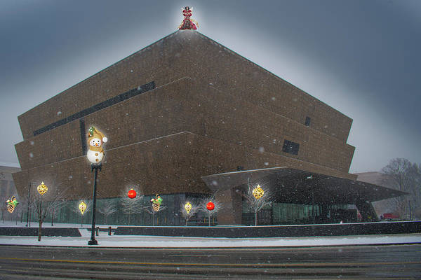 Photograph - Christmas At The National Museum For African American History And Culture by Marvin Bowser