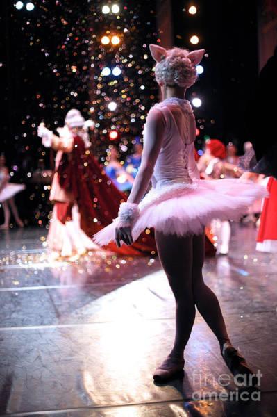 Wall Art - Photograph - Christmas Ballet Performance by Anna Jurkovska