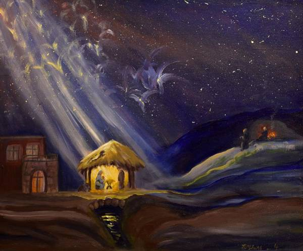 Painting - Christmas by Barbel Smith