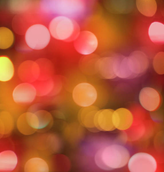 Christmas Lights Photograph - Christmas City Lights by Gregor Schuster