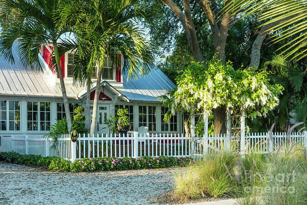 Photograph - Christmas Cottage Naples Florida II by Brian Jannsen