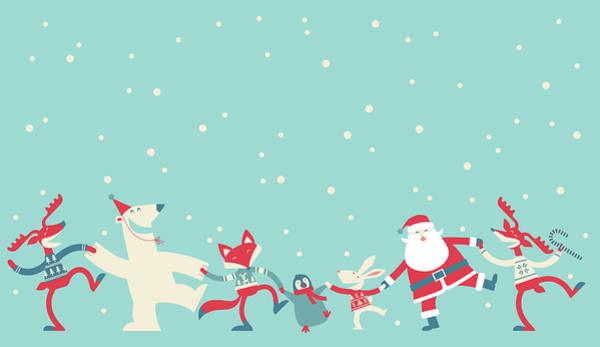 Event Digital Art - Christmas Dancing by Akindo