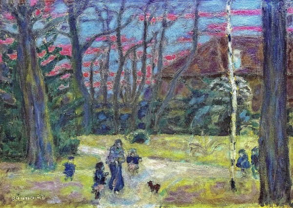 Wall Art - Painting - Christmas Eve - Digital Remastered Edition by Pierre Bonnard