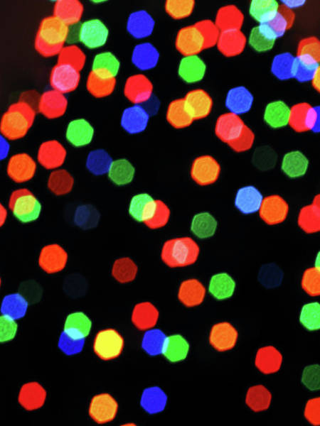 Photograph - Christmas Hexagons by Rick Locke