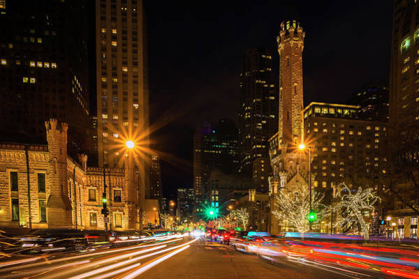 Wall Art - Photograph - Christmas In Chicago by Andrew Soundarajan