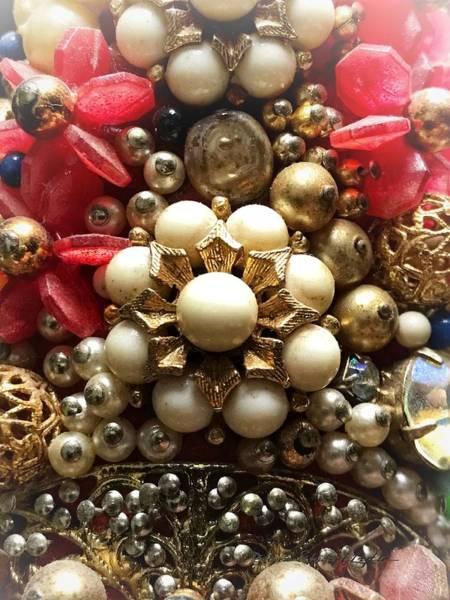 Christmas Jewelry Decor Art Print