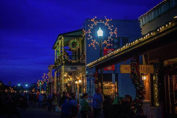 Photograph - Christmas On Main In Boerne by Lynn Bauer