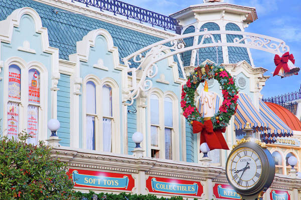 Wall Art - Photograph - Christmas On Main Street by Mark Andrew Thomas