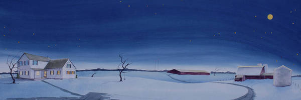 Painting - Christmas On The Kirby Farm by Scott Kirby