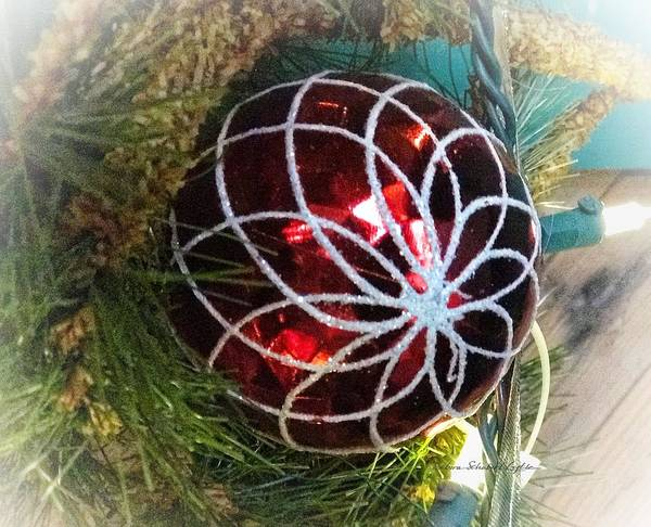 Christmas Ornament 1 Art Print