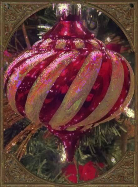 Wall Art - Photograph - Christmas Ornament 2 by Lori Seaman