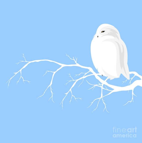 Wall Art - Digital Art - Christmas Theme Design With White Polar by Cattallina