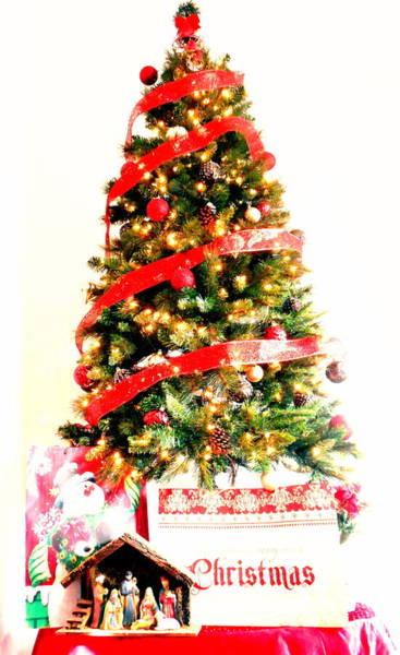 Carol Singing Photograph - Christmas Tree by Dietmar Scherf