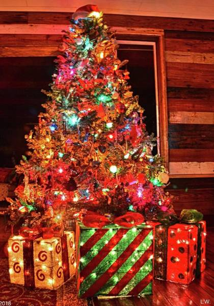 Photograph - Christmas Tree by Lisa Wooten