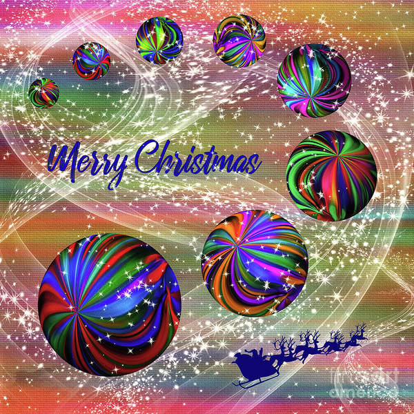 Wall Art - Photograph - Christmas Universe By Kaye Menner by Kaye Menner