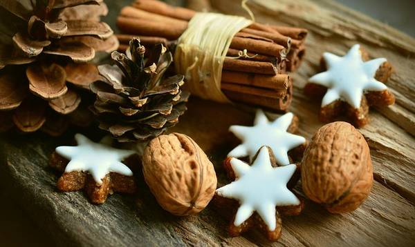 Photograph - Christmash Still Life by Top Wallpapers