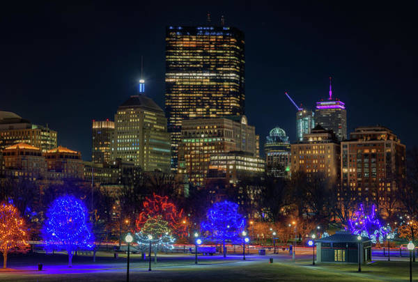 Photograph - Christmastime In Boston by Kristen Wilkinson