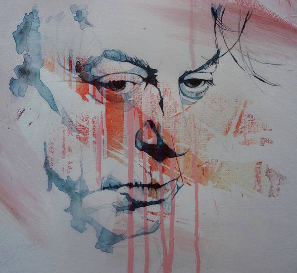 Wall Art - Mixed Media - Christopher Hitchens by Paul Lovering