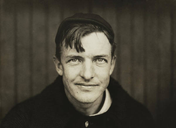 Baseball Hall Of Fame Photograph - Christy Mathewson Portrait by War Is Hell Store
