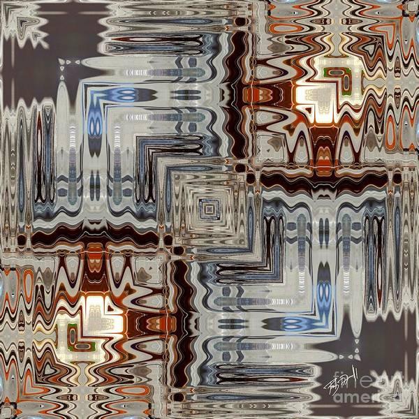 Digital Art - Chrome by Rob Mandell