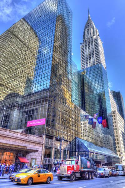 Wall Art - Photograph - Chrysler Building New York by David Pyatt