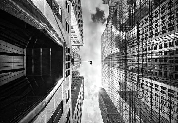 Photograph - Chrysler Building Reflection by Philipp Klinger