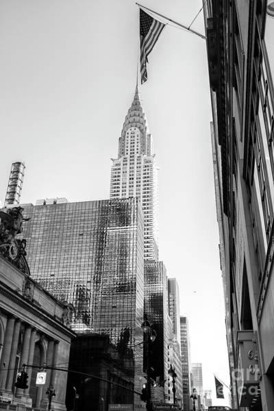 Photograph - Chrysler Building Rising New York City by John Rizzuto