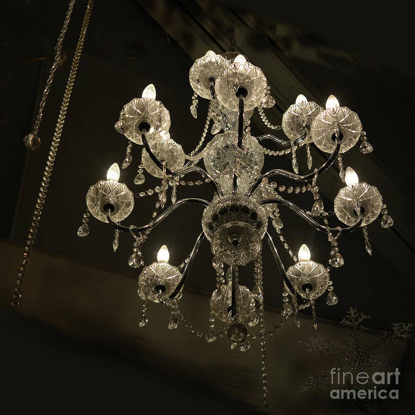 Photograph - Chrystal Lights by Vivian Martin