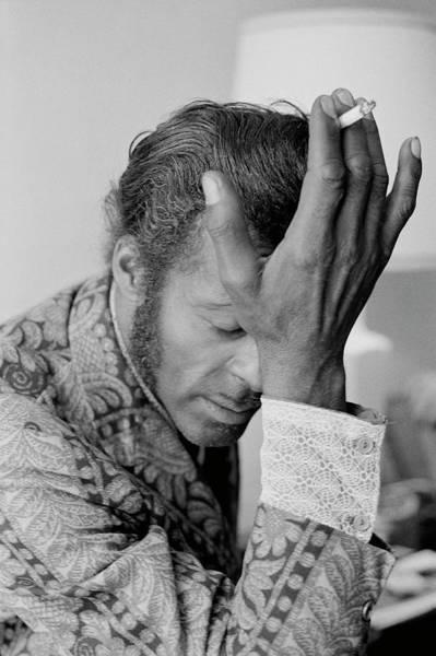 Photograph - Chuck Berry by Michael Ochs Archives