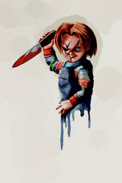 Chucky Wall Art - Digital Art - Chucky by Gary Cadima