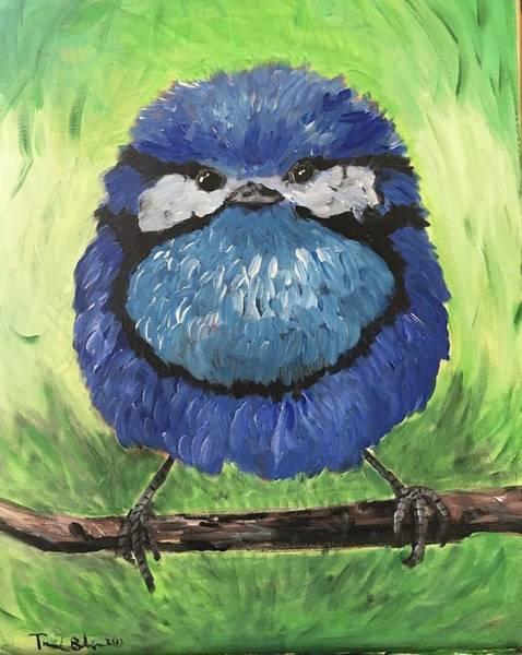 Wall Art - Painting - Chugbird by Travis Baker