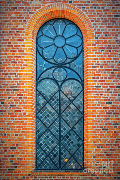 Wall Art - Photograph - Church Arched Window Background by Antony McAulay