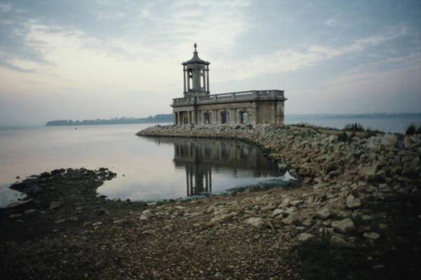 Rutland Photograph - Church By The Water by Epics