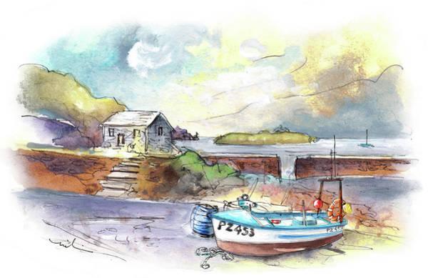 Painting - Church Cove On Lizard Peninsula 01 by Miki De Goodaboom