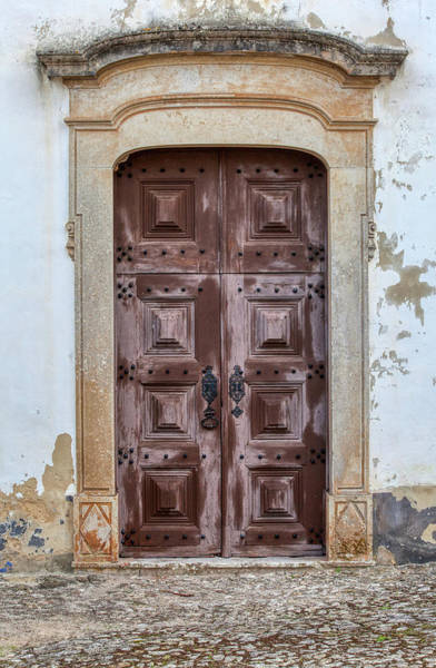 Photograph - Church Door Of Obidos by David Letts