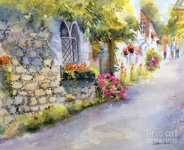 Painting - Church Hill, Hythe, Kent by Beatrice Cloake
