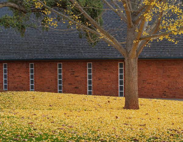 Photograph - Church In Fall by Jonathan Hansen